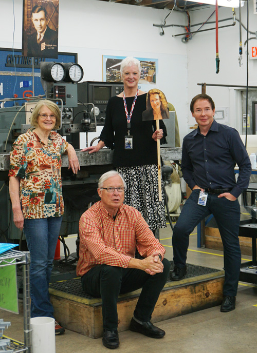 Photo of Cascade Gasket Manufacturing Leadership, Terry, Carol, Marsh, Lee and Ted Pilot.