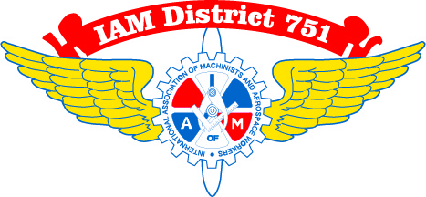 IAM District 751 logo